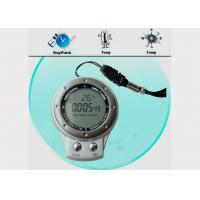 Wholesale IP4 Waterproof Outdoor Digital Compass with Carabiner Key Chain SR104 , GPS,  Altimeter from china suppliers