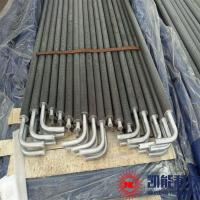 Carbon Steel Pin Tube Boiler Parts / H Spiral Fin Tubes Multi Size Available for sale