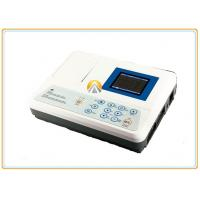 Durable Wireless Ecg Machine , Three Channel Electrocardiograph Machine