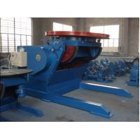 Buy cheap 5 Tons Tilting and Revolving Welding Positioner , Foot Pedal Tilting Rotation Arc Welding Table from wholesalers