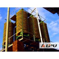 Best High Performance Mining Spiral Chute Ore Dressing Plant For Gravity Separation wholesale