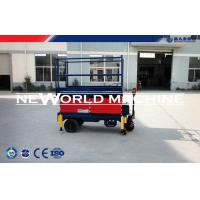 China CE certificate 6-11m aerial working hydraulic platform lift / scissor platform lift on sale