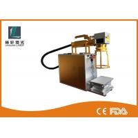 Small Size Handheld Rotary Marking Machine For Rings With Air Cooling System