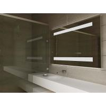 Hotel Luxury Smart TV LED Bathroom Mirror with Bluetooth Loudspeaker for sale