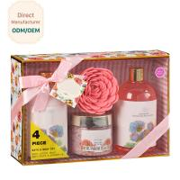 China Sensitive Skin Relaxation Gift Set Bulgaria Rose Garden Fragrance Silky Texture on sale