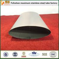 Wholesale Stainless Steel Oval Pipes/Tubes Specialty Tubing For Construction Company from china suppliers