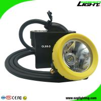 Wholesale High Low Beam Mining Head Lamp Waterproof LED Miner Headlight with USB Charging from china suppliers