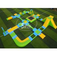 Wholesale Custom Design Giant Floating Inflatable Aqua Amusement Park For Summer Outdoor Water Playing from china suppliers