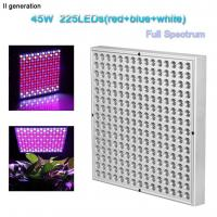 Buy cheap Indoor Greenhouse Led Grow Lights Panel PC Cover With 10W Wattage from wholesalers