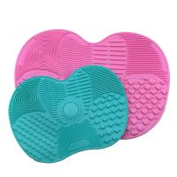 Wholesale Easy Cleaning Silicone Makeup Tool Mat Anti - Oxidation With Suction Cup from china suppliers