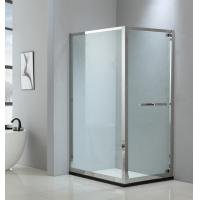 Buy cheap Foldable shower enclosure 900*900mm with 304 stainless steel & tempered clear from wholesalers