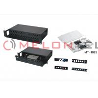 Wholesale Safety 2U Fiber Optic Rack Mount Enclosure Panel 36 Port 19 Inch Racks from china suppliers