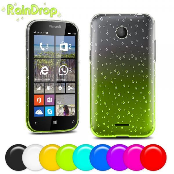 Quality Nokia Lumia 435 4.0 inch Soft plastic TPU Cell Phone Case black white Purple for sale