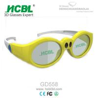 Wholesale Yellow / Pink / Purple Kid 3d active shutter glasses For Xpand Cinema System from china suppliers