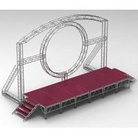 Wholesale DMX One Channel Aluminum Rotary Circle Stage Llighting Truss For Dj Moving Head LED from china suppliers
