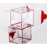 China Window box PP box Special creasing PP box  Alternatives to gift box Alternatives to paper box Clear PET Box bagplastics for sale
