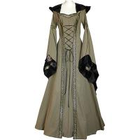Wholesale Medieval Dress Wholesale XXS to XXXL Custom Made Sophia Olive Green-Black Medieval Renaissance Victorian Dress cosplay from china suppliers