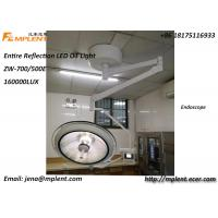 China ZW-700E New 160000Lux Ceiling Type Operation Theater Light Single Dome LED Surgical Lamp for sale