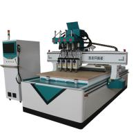 Wholesale 3D Sculpture Automatic CNC Router Wood Carving Machine T Style Heavy Duty Frame from china suppliers