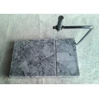 Wholesale Natural Marble Cheese Slicer With Board , Grey Marble Wire Cheese Slicer from china suppliers