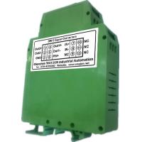 WAYJUN 3000VDC isolation DC current/voltage Conditioners(two in two out) Green DIN35 signal converter