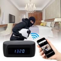 Wholesale Wholesale 1920*1080P Wifi Spy Clock Camera with Night Vision IP Camera Hidden P2P Cam Home Security Surveillance Camcord from china suppliers