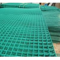 Wholesale Heavy gauge PVC Coated Wire Mesh , green / white / yellow , oxidation - resisting from china suppliers