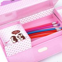 Wholesale Cool Pink Pencil Cases For Teenage Girls , Opening With Password from china suppliers