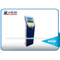 Touch Screen IR Card Dispenser Kiosk For Parking Car Access Control System for sale