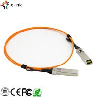 Active Optical Cable Fiber Optic Transceiver Module OM2 Cable Length 1m 10G SFP+ To SFP+ for sale