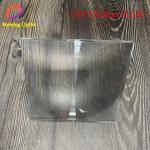 China 150*150mm with focal length 190 spot fresnel lens ,square fresnel lens for solar concentrator for sale
