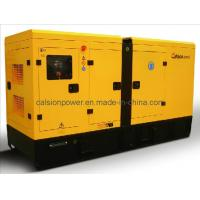 Quality 50Hz Enclosed 100kVA Volvo Electric Generator for sale