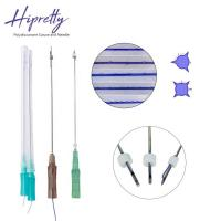 Quality Skin care medical face lifting pdo thread needle Screw/Single/3D-COG thread for sale