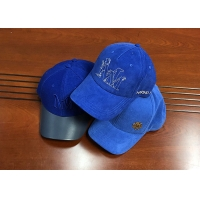 Wholesale Fashionable different color blue as you want 6panel structured baseball caps hats from china suppliers