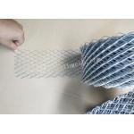 China 6.5cm Width Brickwork Reinforcement Mesh 16m Length 480g / M2 12*25mm Hole for sale