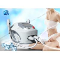 Wholesale Two handles IPL SHR Hair Removal Machine For back , leg , bikini hair removal from china suppliers