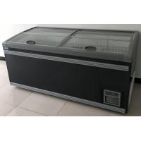 China Big Sliding Glass Door Combi Freezer,Island freezer,display freezer,deep freezer for sale