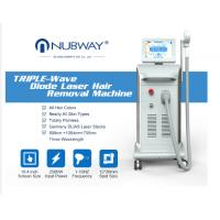 China Nubway professional best painless high technology 808 soprano diode laser hair removal beauty Machine with big spot for sale