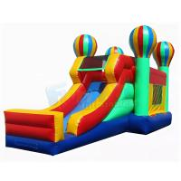China Balloon Bounce House Commercial Inflatable Slide Combo 1 Year Warranty for sale