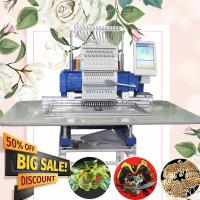 China HO150N one head domestic cap hat flat multi-function computerized embroidery machine for sale for working room or family on sale