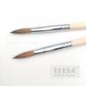 Buy cheap Size 6 Extension Nails Natural Wood 100% Kolinsky Acrylic Nail Pencil Brush from wholesalers