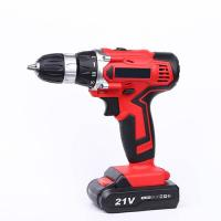 China Fast Charger 21V Cordless Drill Deals High Performance For Home Decoration for sale