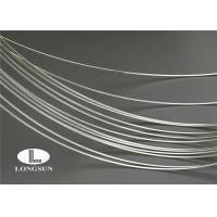 Best Fine Silver Wire For Contact Rivets / Low Resistance Silver Coated Copper Wire wholesale
