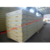 Wholesale Customized Heat Insulation Cost Saving Insulated PU Sandwich Panels For Wall Systems from china suppliers
