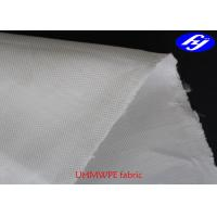 China 400D Plain Puncture Proof UHMWPE Fabric Fiber 125GSM For Bullet Proof Vest on sale