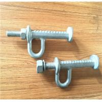 Forged Steel Power Line Fittings Tower Pole Step Bolt HDG Surface Finished