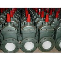 China Electric Resilient Wedge Gate Valve / Flanged Water Supply Gate Valve on sale