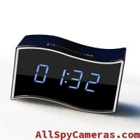 Wholesale 1080P WIFI Spy IP clock camera with Wide angle lens Support RJ45 Lan cable from china suppliers