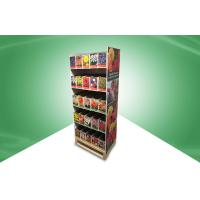 Home Five - Shelf POS Cardboard Floor Displays , Recyclable And Strong
