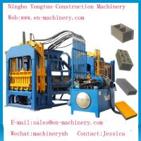 Wholesale Economical PLC Control System automatic 4-15 Cement Concrete Block Making Machine from china suppliers